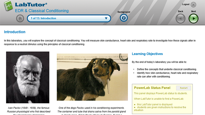 Put classical conditioning theory into practice with an analysis of skin conductance