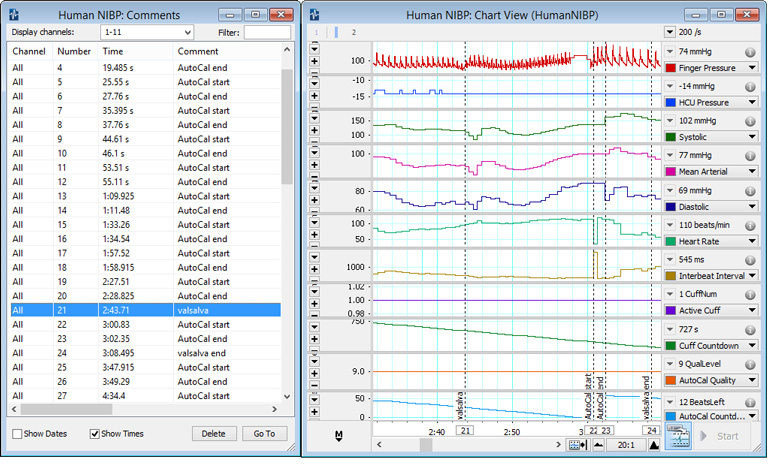 blood pressure recording form