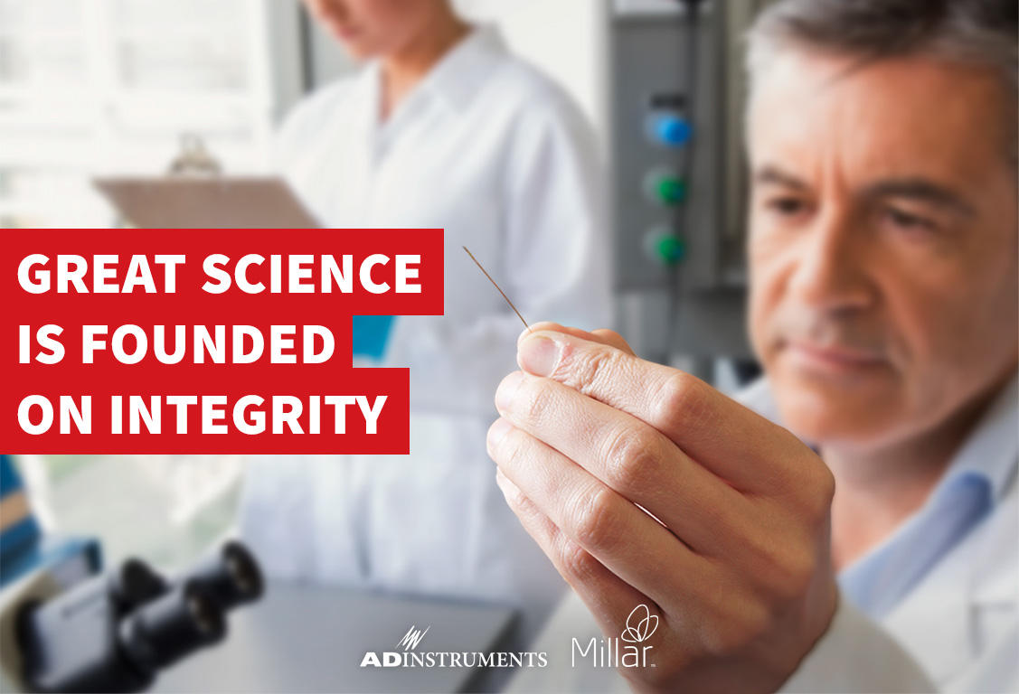 Millar - Great Science is Founded on Integrity